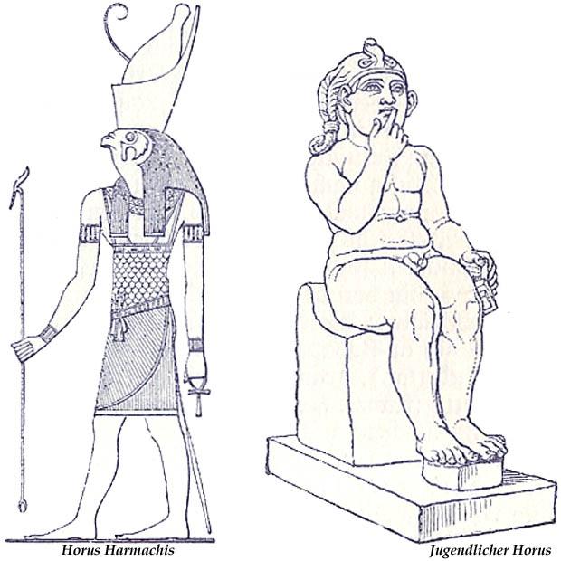 gott horus tier