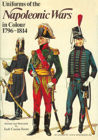 uniforms   napoleonic wars  colour