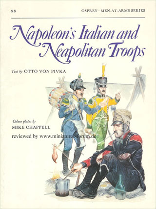 Napoleon's Italian and Neapolitan Troops, Osprey Men-At-Arms Series 88