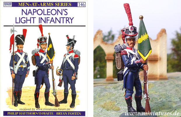Napoleon's Light Infantry, Osprey Men-At-Arms Series 146