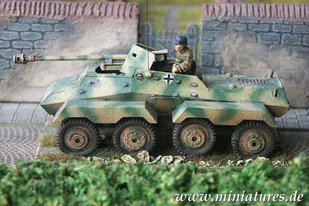 sd kfz 231 s pz sp hwg pakwagen 1 76 modellbau airfix 01311. Black Bedroom Furniture Sets. Home Design Ideas