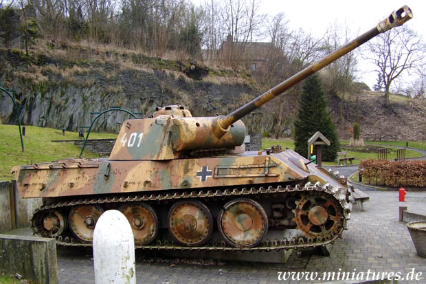 Deutscher Panzerkampfwagen V »Panther« Ausf. G in Houffalize