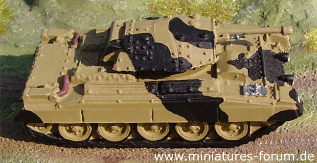 A.16 Crusader III, Cruiser Tank Mk.VI, 1:87 Scale World Tanks Depot 20