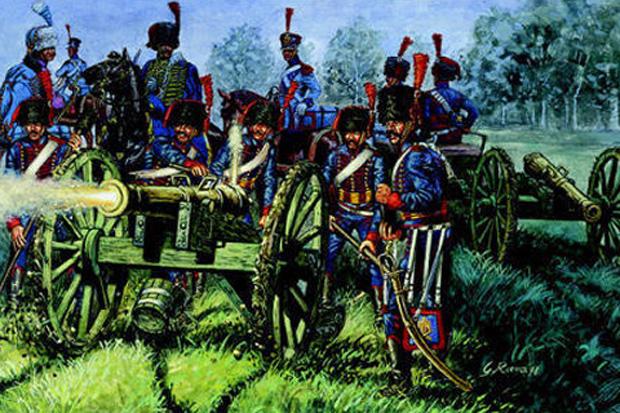 reichweiten artillerie napoleon