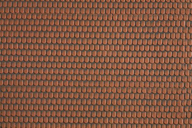 Noch 573344  Dachstein rot   3D Strukturfolie    N    Neu und OVP.