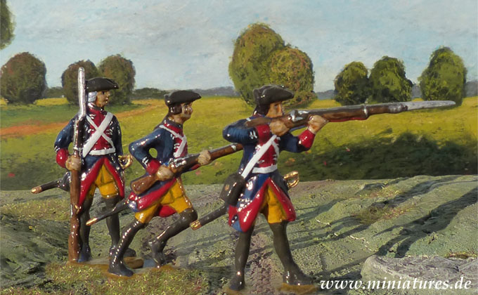 Infanterie-Regiment 3. Garde (Nr. 1), 40 mm Figuren Prince August