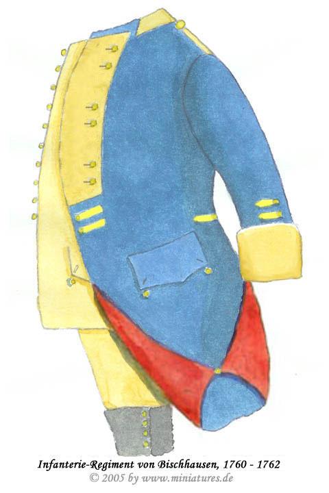infanterie regiment v bischhausen nr 4 hessen kassel 1759 1762. Black Bedroom Furniture Sets. Home Design Ideas