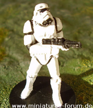 Imperialer Sturmtruppler aus dem Star Wars Miniatures Game