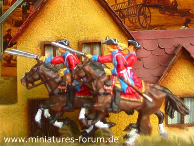 Sterreichische Dragoner Und Chevaulegers Siebenjhriger Krieg 1756 1763