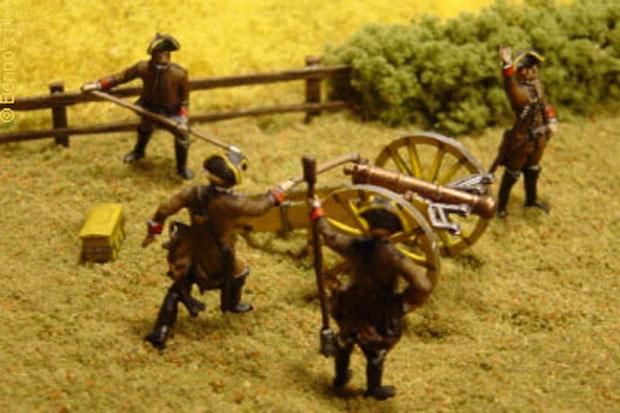 Sterreichische Artillerie Siebenjhriger Krieg 1756 1763 172 Figuren Revell 02579