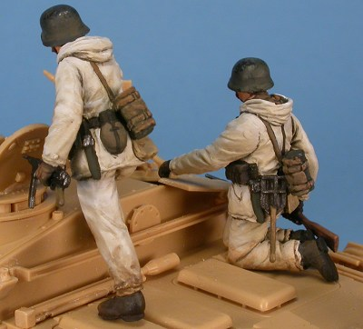 Panzergrenadiere in Wintertarnanzügen, 1:48 Figuren Gaso.line GAS50371