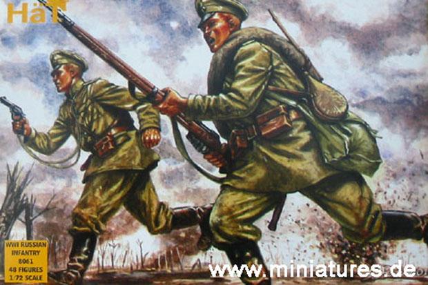 russische infanterie 1 weltkrieg 1 72 figuren h t industrie 8061. Black Bedroom Furniture Sets. Home Design Ideas