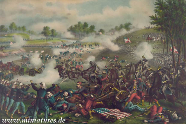 Schlacht am Bull Run, 21. Juli 1861