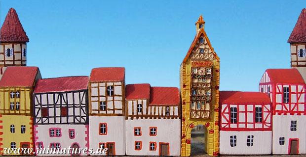 Häusermodelle für Wargames