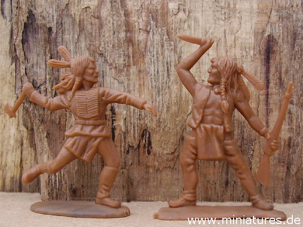 Indianer, 1:32 Timpo Solids Figuren von Toyway 43503